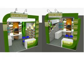 Geoforce Indonesia Booth